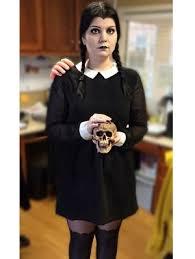 Wednesday Addams Halloween Costumes 13 Halloween Costumes Black Dress Gurl