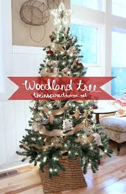 themed christmas my woodland christmas tree reveal the inspired room