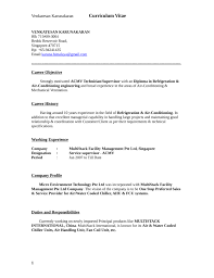 Refrigeration Technician Resume Example Hr Executive Resume Esl College Essay Editing Services For
