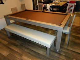 pool table converts to dining table dining room table pool table dining table and pool combination