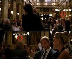 Dark Knight Joker Meme - identify this actor is heath ledger seen in the restaurant scene