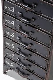 Retro Filing Cabinet Distressed Metal Drawer Cabinet By I Love Retro