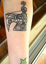 Machine Tattoo Ideas Sewing Machine Tattoo By Ashler Sauce This Is The Singer