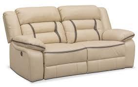 Two Tone Reclining Sofa Remi 2 Power Reclining Sofa Value City Furniture