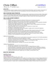 star method resume examples sample ministry resume seth