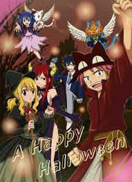 anime happy halloween happy fairy tail mobile wallpaper android iphone wallpaper