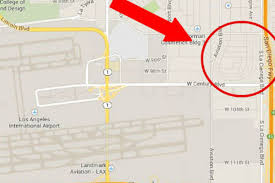Map Of Airports In Los Angeles by Lax Revives Idea For Huge Car Rental Center In Ghost Town