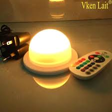small led lights with remote battery operated led light 5 x white single led battery powered