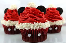 mickey mouse santa hat cupcakes sisters crafting