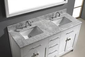60 inch white kitchen base cabinet caroline 60 vanity md 2060 bathroom vanities virtu usa