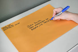 writing a math paper how to address large envelopes our everyday life landscape orientation