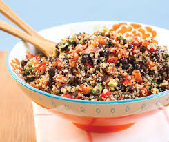 quinoa thanksgiving stuffing quinoa salad with warm bacon vinaigrette allergic living