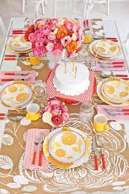 cheery birthday table setting southern living
