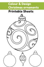 wonderful site for printable ornaments to paint or color