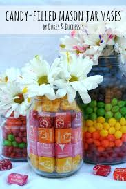 jar vases candy filled jar vases dukes and duchesses