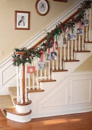 Banister Christmas Ideas A Whole Bunch Of Christmas Staircase Decorating Ideas U2014 Style Estate