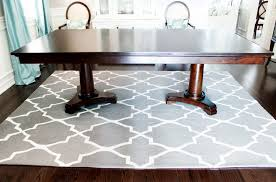 temporary flooring over carpet dining tables lappljung ruta rug what size rug under 60 inch round table rug sizes