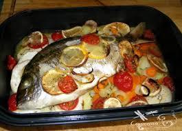 cuisiner une dorade dorade au four aux petits legumes les petits plats dans les grands