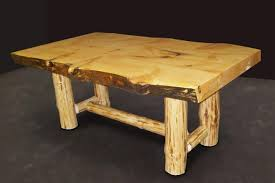 Log Dining Room Tables Pretty Log Dining Room Table On Slab Dining Table Rustic Dining