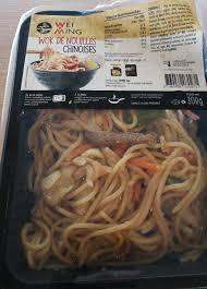 glutamate de sodium cuisine wok de nouilles chinoises wei ming