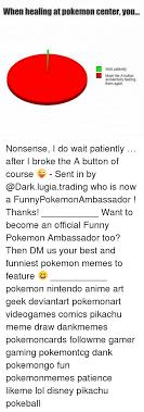 Button Broke Meme - 25 best memes about lugia lugia memes
