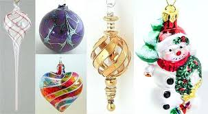 blown glass ornaments uk traditional blown glass