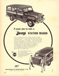 vintage jeep ad venturing into the automotive industry mahindra rise