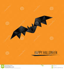 halloween design background halloween card template low poly design holiday stock vector