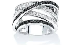 wedding rings for him and black diamond wedding rings his and hers black diamond wedding