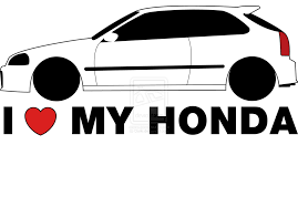 jdm sticker wallpaper i love my honda sticker the new sticker design