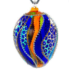 glass easter egg ornaments 31 best collectible painted stained glass ornaments images on