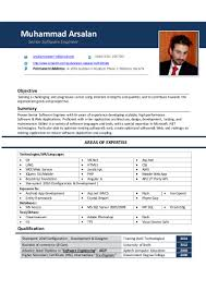 Crystal Report Resume Resume