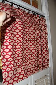 Easy Sew Curtains No Sew Tie Top Curtains Decoration And Curtain Ideas