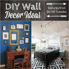 Vintage Diy Home Decor by Diy Wall Decor Ideas U0026 Do Tell Tuesday 62 Diane U0027s Vintage Zest