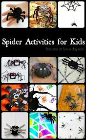 not so creepy spider crafts and activities for kids crafts