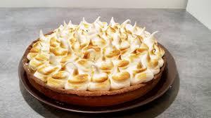 cuisine tarte au citron recette facile et rapide de la tarte au citron meringuée lemon