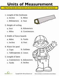 measuring units worksheet units of measurement worksheet education