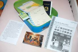 the crafty work at home momma little pretend passports