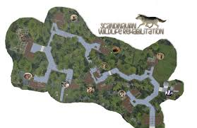 Blank Park Zoo Map by Fridoohs Graficshop