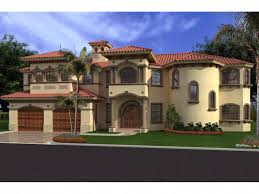 House Plans And More Com Placida Spanish Luxury Home Plan House Plans And More Wallpaper