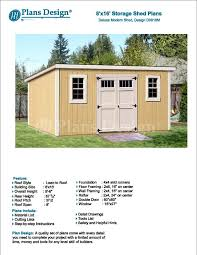 Free Outdoor Wood Shed Plans by Inspirational Free 12x16 Storage Shed Plans 29 In How To Build A