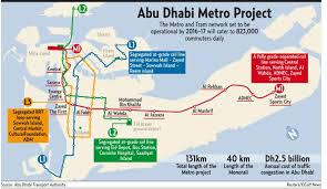 Austin Metro Rail Map Abu Dhabi Metro Map Abu Dhabi Metro Project Map United Arab