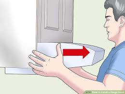 how to install a range hood 14 steps with pictures wikihow