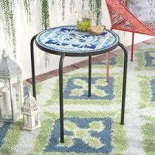Mosaic Patio Tables Mosaic Patio Tables You Ll Wayfair