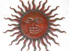 Sun Wall Decor Outdoor All Types Of Metal Sun Wall Decor Including Abstract Sunbursts
