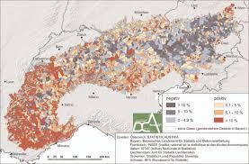 Alps On A Map Die Alpen Zwischen Verödung Und Gentrifizierung Scilog
