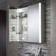 Bathroom Cabinets With Lights Illuminated Bathroom Cabinets With Led Lights Pebble Grey