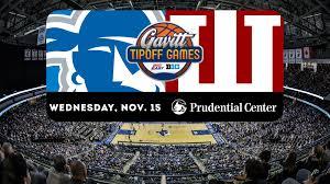 Prudential Center Floor Plan Pirates To Host Indiana In Gavitt Tipoff Games Seton Hall University