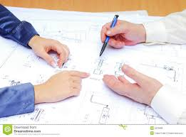 architect plan royalty free stock image image 5329486
