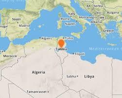 tunisia physical map tunisia s borders ii terrorism and regional polarisation